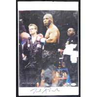 Freddie Roach Boxer Trainer Signed 11x17 Page JSA Authenticated
