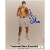 Dana Rosenblatt Boxer Signed 8x10 Glossy Photo JSA Authenticated