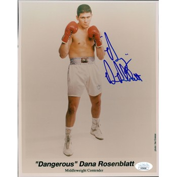 Dana Rosenblatt Boxer Signed 8x10 Glossy Photo JSA Authenticated