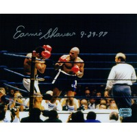 Earnie Shavers Boxer Signed 8x10 Card Stock Photo Shavers Authenticated