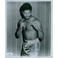 Leon Spinks Boxer Signed 8x10 Glossy Photo JSA Authenticated