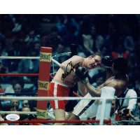 Chuck Wepner Boxer Signed 8x10 Glossy Photo JSA Authenticated