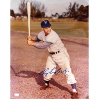 "Roy Campanella ""Brooklyn Dodgers"" Signed 16""x20"" Color Photo JSA #B10076"