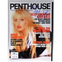 Melissa Ann Signed Penthouse November 1998 Magazine JSA Authenticated