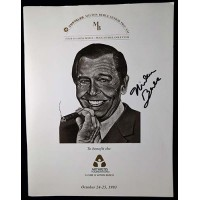 Milton Berle Actor Signed 1993 Chrysler Pro-Am Program JSA Authenticated