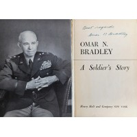 Omar Bradley Signed A Soldier's Story Hardcover Book JSA Authenticated