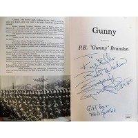 P.E. Brandon Signed Gunny A Story About A Marine Gunnery Sgt Book JSA Authentic