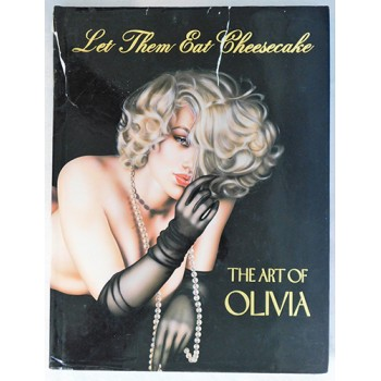 Olivia De Berardinis Signed Let Them Eat Cheesecake Book JSA Authenticated