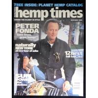 Peter Fonda Actor Signed Hemp Times Magazine JSA Authenticated