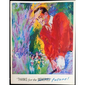 Bob Hope and LeRoy Neiman Signed 1988 UCPA Program JSA Authenticated
