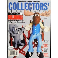Keith Scott Adventures of Rocky And Bullwinkle Signed Magazine JSA Authenticated