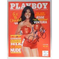 Mia St. John Signed Playboy November 1999 Magazine JSA Authenticated