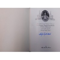 Shirley Temple Black The Shirley Temple Scrapbook Signed Easton Press Book