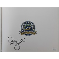 Robin Yount Signed Down In The Valley Hardcover Cover Book JSA Authenticated
