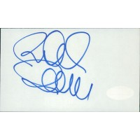 Richard Donner Director Signed 3x5 Index Card JSA Authenticated