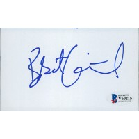 Bobcat Goldthwait Signed 3x5 Index Card Beckett Authenticated BAS