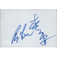 Ang Lee TV And Movie Director Signed 4x6 Index Card JSA Authenticated