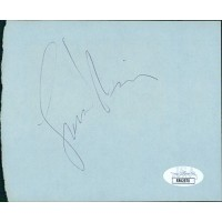 Leonard Nimoy Actor Signed 4.5x5.5 Cut Album Page JSA Authenticated