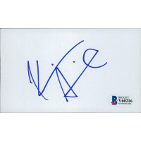 Kevin Smith Jay and Silent Bob Signed 3x5 Index Card Beckett Authenticated BAS