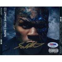 50 Cent Before I Self Destruct Signed CD Insert PSA/DNA Authenticated