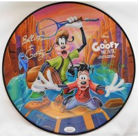 A Goofy Movie Bill Farmer Jason Marsden Signed Record Album JSA Authenticated