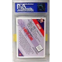 Amani Signed 1992 Clubhouse Diamonds #31 Promo Card Series 1 PSA Authenticated