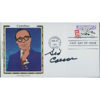 Sid Caesar Comedian Actor Signed First Day Issue Cover FDC JSA Authenticated