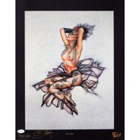 Olivia De Berardinis Signed Sheer Magic 16x20 Lithograph Art Poster JSA Authenticated