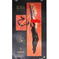 Olivia De Berardinis Signed Bazooka 22x38 Lithograph Art Poster JSA Authentic