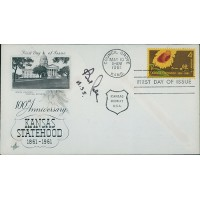 Bob Dole United States Senate Signed First Day Issue Cover FDC JSA Authenticated