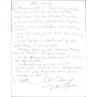 Fats Domino Pianist Singer Signed 8.5x11 Hand Written Lyrics JSA Authenticated