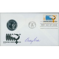 Betty Ford First Lady Signed First Day Issue Cover FDC JSA Authenticated