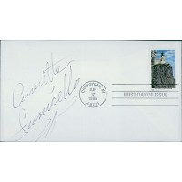 Annette Funicello Mouseketeer Signed First Day Cover Envelope JSA Authenticated