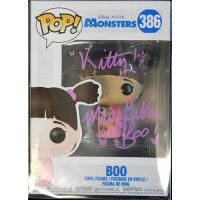 Mary Gibbs Signed Monsters, Inc. Boo Funko Pop 386 JSA Authenticated