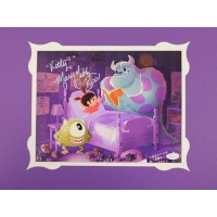 Mary Gibbs Disney Boo Monsters Inc. Signed 11x14 Print Matting JSA Authenticated
