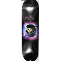 Mary Gibbs Signed Monsters, Inc. Boo Custom Skateboard JSA Authenticated