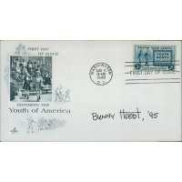 Bunny Hoest Lockhorns Cartoonist Signed First Day Issue Cover FDC JSA Authentic
