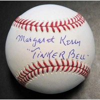 Margaret Kerry Signed Tinker Bell Disney MLB Baseball JSA Authenticated