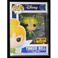 Margaret Kerry Signed Tinker Bell Disney Funko Pop Hot Topic 10 JSA Authenticated