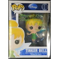 Margaret Kerry Signed Tinker Bell Disney Funko Pop 10 JSA Authenticated Error