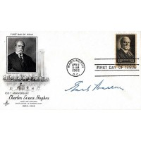 Chief Justice Earl Warren USA Signed First Day Issue Envelope JSA Authenticated