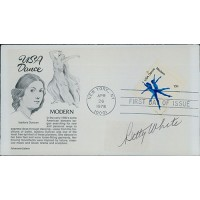 Betty White Actress Signed First Day Issue Cover FDC JSA Authenticated
