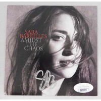 Sara Bareilles Signed Amidst The Chaos CD Booklet JSA Authenticated