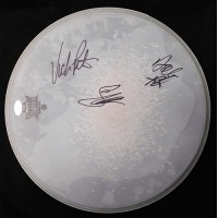 The Bangles Group Signed Remo 14 inch Drumhead JSA Authenticated Hoffs, Peterson