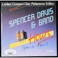Spencer Davis Signed 24 Hours CD Booklet Insert JSA Authenticated