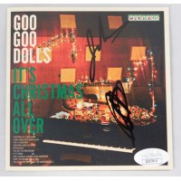 Goo Goo Dolls Signed It's Christmas All Over CD Booklet JSA Authenticated