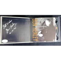 Don Henley Eagles Signed The End of The Innocence CD Case JSA Authenticated