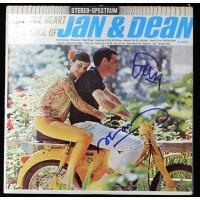 Jan & Dean Signed The Heart of Jan & Dean Album JSA Authenticated