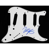 Jonny Lang Signed Electric Strat Guitar Pickguard JSA Authenticated