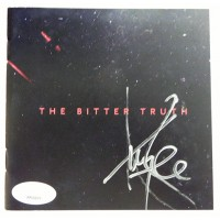 Amy Lee Evanescence Signed The Bitter Truth CD Booklet JSA Authenticated